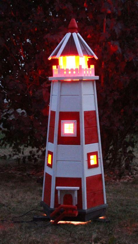 neuer leuchtturm aus holz holzdekoladende