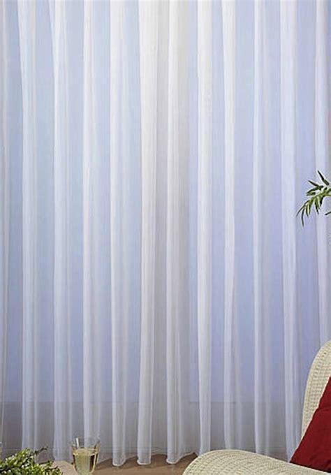 Fertiggardinen Kaufen by Uni Voile Store Gardine Vorhang Bleiband Faltenband 1 3