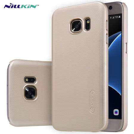 Nillkin Frosted Shield For Samsung Galaxy S7 Gold nillkin frosted shield samsung galaxy s7 gold