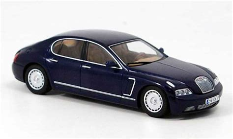 Bugatti Eb218 Blue Genf 1999 Autoart Diecast Model Car 1