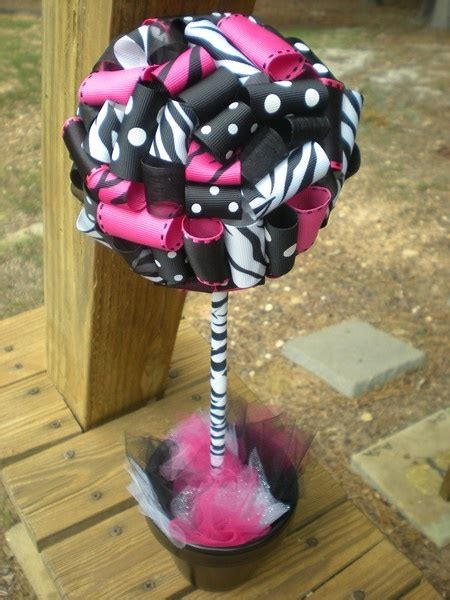 17 Best Images About Music Themed Sweet 16 Party On Zebra Centerpiece Ideas