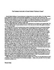 Robinson Crusoe Essay by Robinson Crusoe Essay Religion