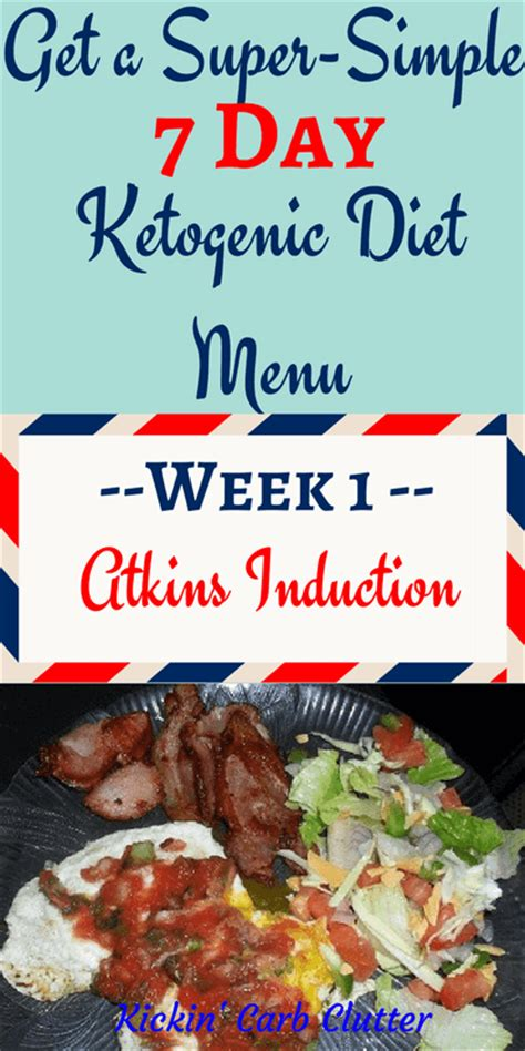 induction phase of keto 7 day ketogenic diet menu for atkins induction