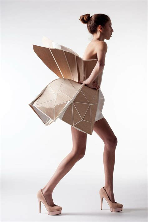 origami fashion best 25 origami fashion ideas on fabric