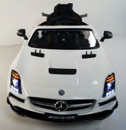 Ride On Mercedes Rideonecar Ride On Car For Mercedes Sls Style