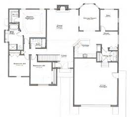 House Plans With Open Floor Plans by Open Floor House Plans Cottage House Plans