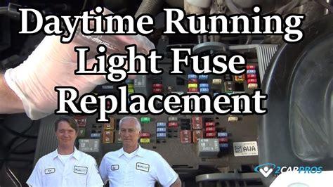 brake lights dont work but running lights do daytime running light fuse replacement youtube