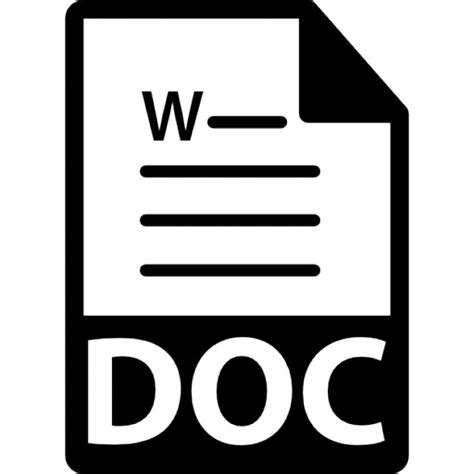 format file doc doc file format symbol icons free download