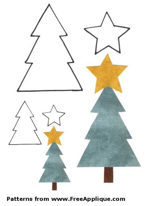 pattern for applique christmas tree search results for pattern for christmas tree calendar