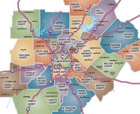 map of atlanta ga suburbs communities magazine search by price