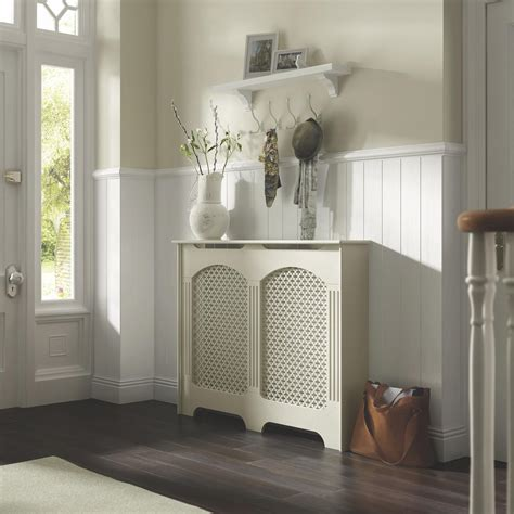 Cambridge Medium White Painted Radiator Cover