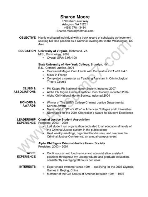 sle resume criminology graduate resume ixiplay free