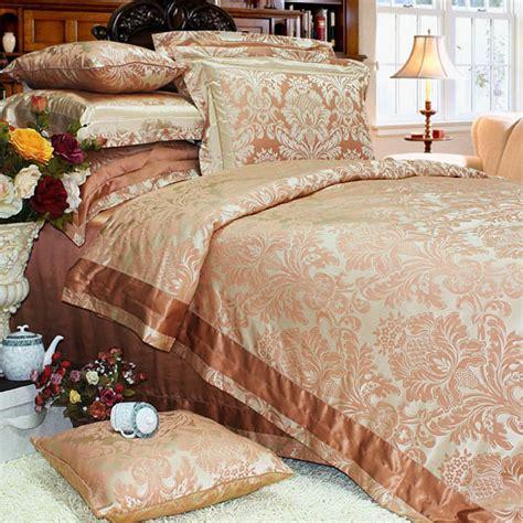 luxury bedding sale 8 pieces silk luxury bedding sets set36