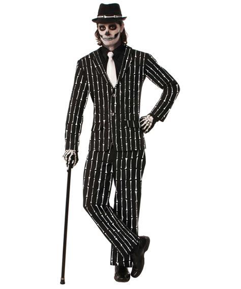 Pilgrim Decorations Skeleton Pinstripe Suit Costume Men Costume