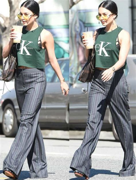 Hudgens Lookin Mighty In Calvin Klein by Hudgens Takes Designer Shoe Collection Out For