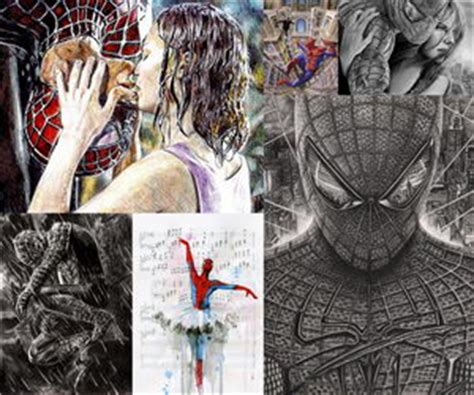 cool spiderman drawings hative