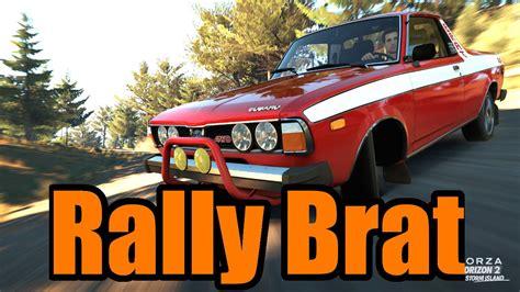 subaru brat rally forza horizon 2 subaru brat rally build