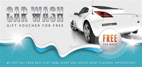 car wash gift card template car wash gift voucher v12 by rapidgraf graphicriver