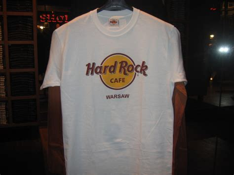 Western Style Duvet Covers Hard Rock Cafe Warsaw T Shirt Classic White T Shirt