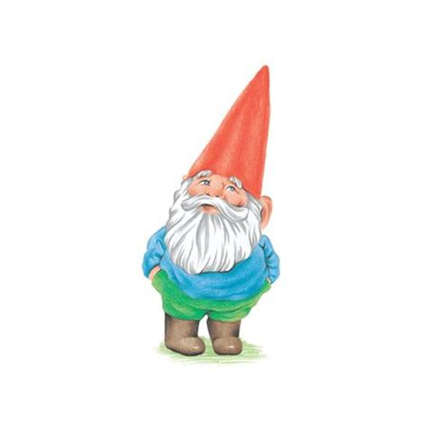 Garden Nome by Cartoon Gnome Clipart Best
