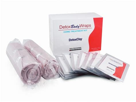 Cell Detox Wraps by Beautyko Detox Wraps Home Treatment Kit