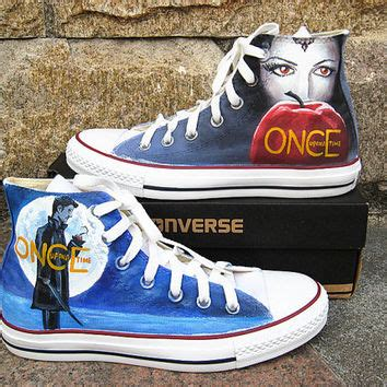 once upon a time silver slippers once upon a time shoes converse shoes from kingmaxpaints