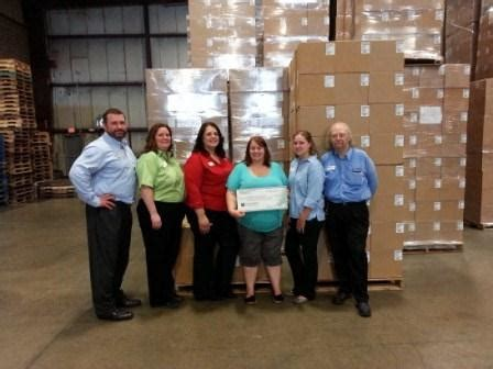 Food Pantry Watertown Ny by Food Bank Of Central New York Receives 2 745 Donation