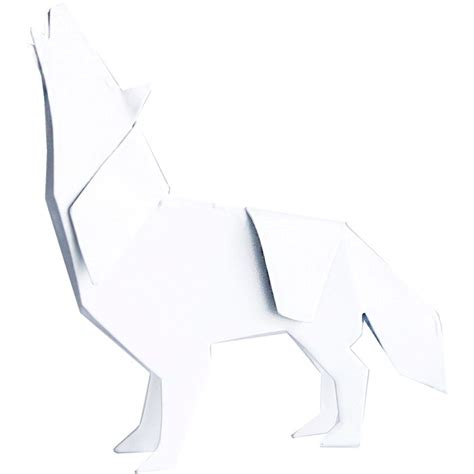 Origami Wolf Folding - 17 best images about origami p on fox logo