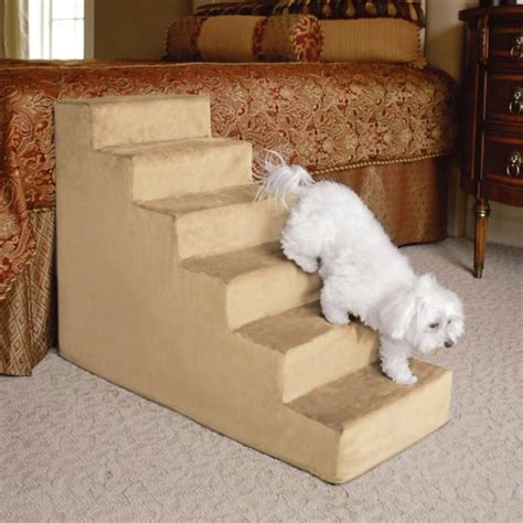 doggie steps for small dogs animals matter 174 small upholstered pet steps frontgate
