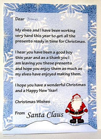 letter to santa letter from santa boy cup134633 698 1448