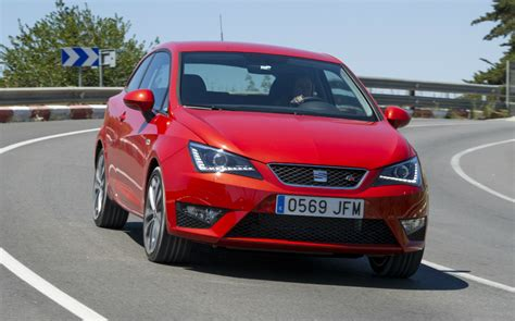 Seat Cupra Interior First Drive Review Seat Ibiza 2015