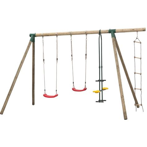 Balancoire 4 Agres by Portique Balan 231 Oire 4 Agr 232 S Pour Enfants Danielle Swing King