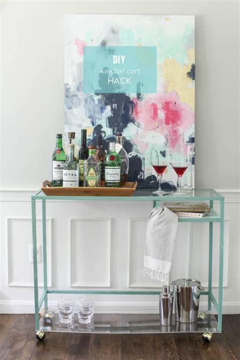 ikea cart hack diy ikea bar cart hack bar diy bar cart and tables