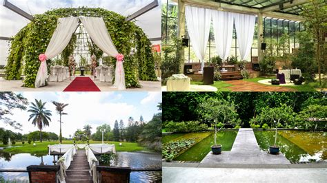Wedding Kl garden wedding venues in klang valley venuescape