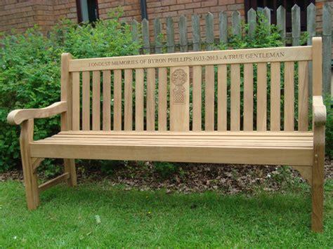 teak memorial benches golden care teak protector uk 4memorialbench co uk