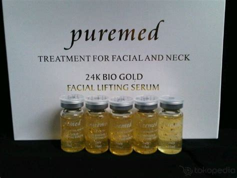 Serum Emas Puremed msfunnyshop serum puremed gold italy 24k