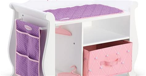 changing tablestorage unit   bitty baby doll gift