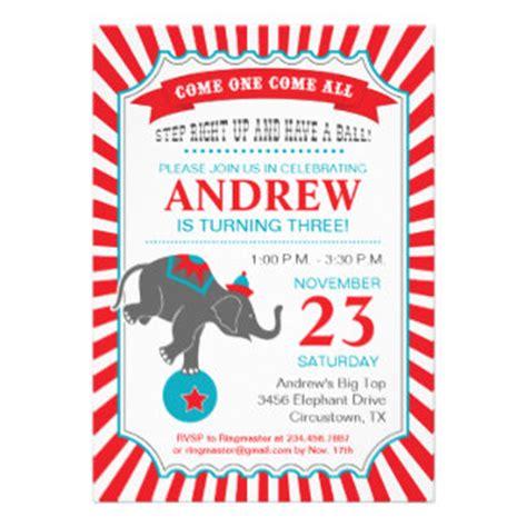 circus invitation template circus birthday invitation template free clipart best