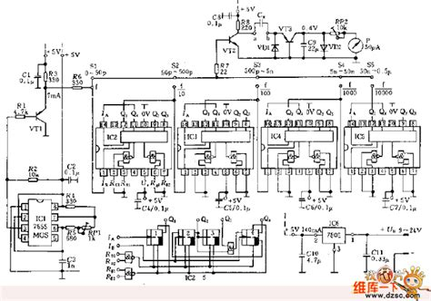 capacitor measurement circuit capacitance measurement circuit lifier circuit circuit diagram seekic