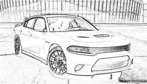 dodge car coloring page dodge charger 2015 coloring page coloring home