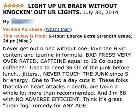 the energy drink side effects hilarious energy drink reviews from that point out