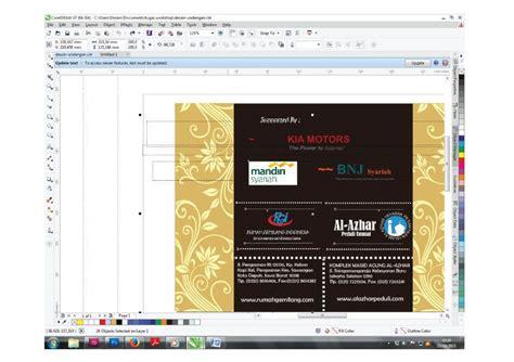 langkah membuat undangan dengan corel draw x5 cara membuat undangan menggunakan coreldraw kelas desain