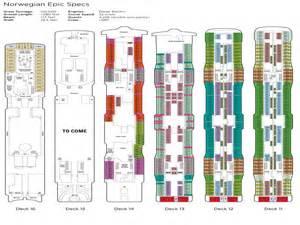 Ncl Epic Floor Plan Epic Deck Plans Epic Ships Deck