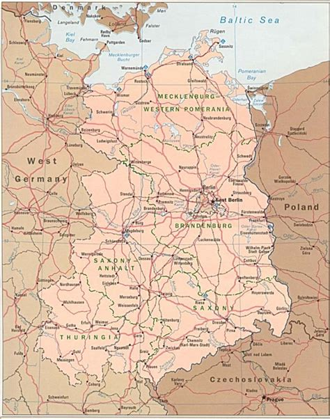 map of east and west germany with cities east germany map free printable maps