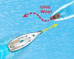 ri boating license two vessels meeting head on power vs sail