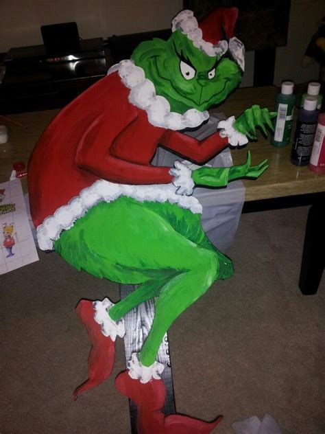 55 best the grinch images on pinterest christmas crafts