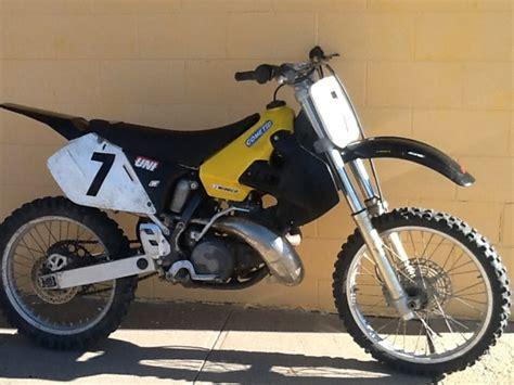 suzuki rm 250 2 stroke dirt bike make offer nex tech