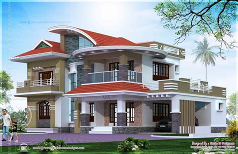 home plans 2013 5 bedroom luxury house in kasaragod kerala home design