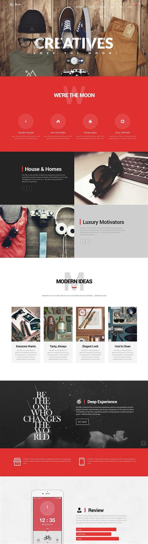 theme wordpress free creative 20 the most creative wordpress themes of 2015