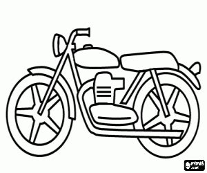 motorcycles coloring pages printable games